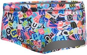 Funky Trunks Men's Handsome Ransom Plain Front Square Leg Brief Swimsuit 8162915