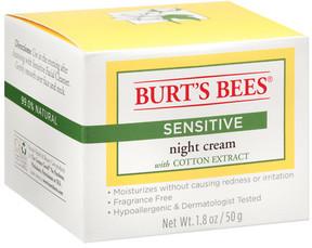 Burt's Bees Sensitive Night Skin Cream