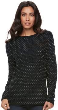Elle Women's Textured Embellished Sweater