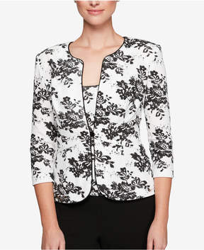 Alex Evenings Embellished Jacket & Shell