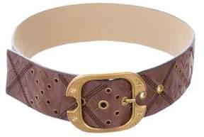 Bottega Veneta Grommet-Embellished Waist Belt
