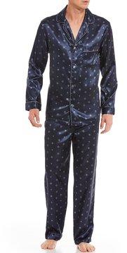 Roundtree & Yorke Big & Tall Printed Pajama Set