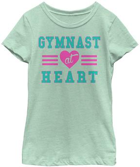 Fifth Sun Mint 'Gymnast at Heart' Crewneck Tee - Girls