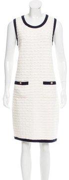 Chanel Matelassé Sweater Dress