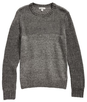 Tucker + Tate Boy's Mix Knit Sweater