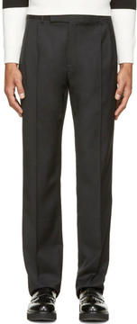 J.W.Anderson Black Wool Classic Trousers