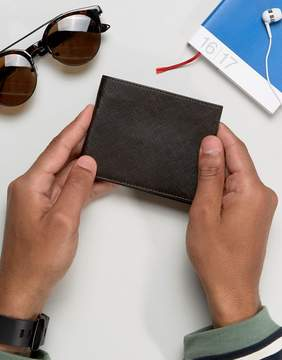 French Connection Wallet In Saffiano Leather