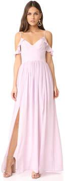 Amanda Uprichard Wren Maxi Dress
