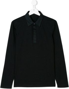 Antony Morato Teen contrast placket polo shirt