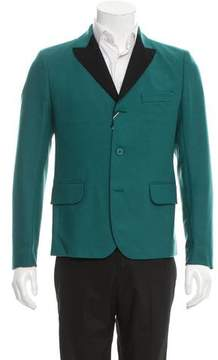 Carven Virgin Wool Three-Button Blazer w/ Tags
