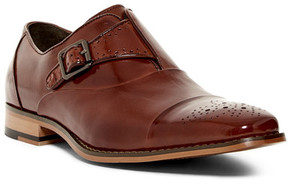 Stacy Adams Tipton Cap Toe Single Monk Strap Loafer