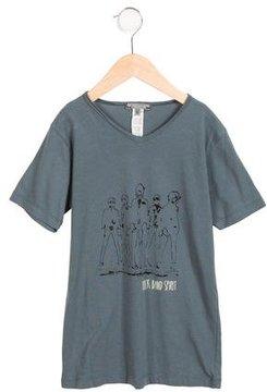 Bonpoint Boys' Short Sleeve Graphic Shirt