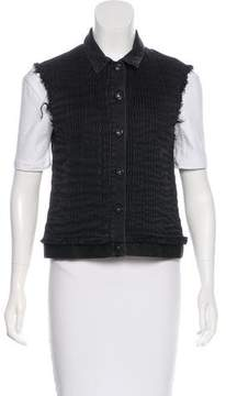 Each X Other Pleated Denim Vest