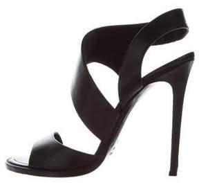 Haider Ackermann Leather Multistrap Sandals
