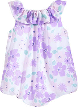 First Impressions Floral-Print Bubble Romper, Baby Girls, Created for Macy's