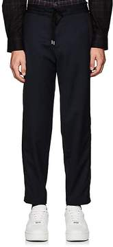 Public School Men's Striped Virgin Wool Drawstring Trousers