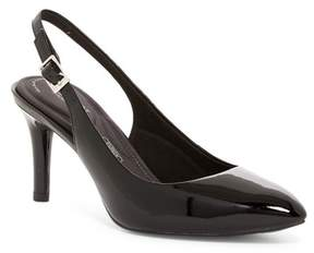 Rockport Total Motion Pointed Toe Slingback Pump - Wide Width Available