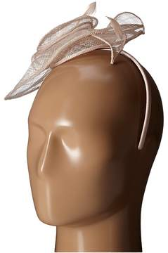 San Diego Hat Company DRS1006 Dressy Fascinator with Rosette and Featheres Perfect For The Derby Dress Hats