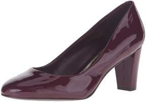 Lauren Ralph Lauren LAUREN by Ralph Lauren Womens Hala Leather Closed Toe Classic Pumps