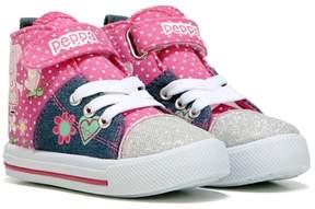 Peppa Pig Kids' Peppa High Top Sneaker Toddler