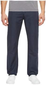AG Adriano Goldschmied Graduate Tailored Leg Linen Pants in Sulfur Night Sea Men's Casual Pants