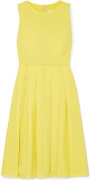 DAY Birger et Mikkelsen Cefinn - Pleated Voile Dress - Yellow
