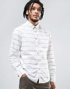 Esprit Cotton Shirt with Stripe Detail