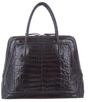 Nancy Gonzalez Crocodile Frame Bag