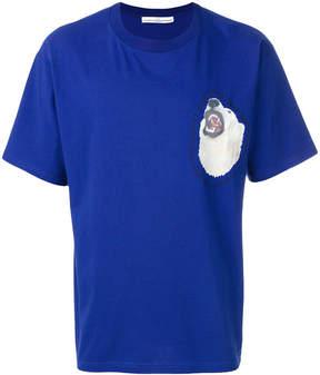 Golden Goose Deluxe Brand polar bear patch T-shirt