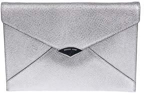 Michael Kors Envelope Clutch - SILVER - STYLE