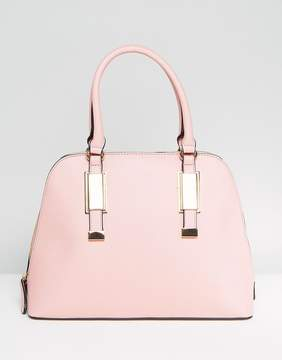Aldo Dome Tote Bag with Top Handle in Blush