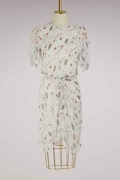 Etoile Isabel Marant Silk Barden dress
