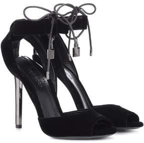 Tom Ford Velvet sandals