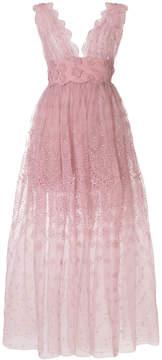Ermanno Scervino embroidered gown