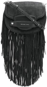 MICHAEL Michael Kors fringed logo crossbody bag