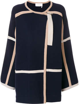 Chloé belt detail coat
