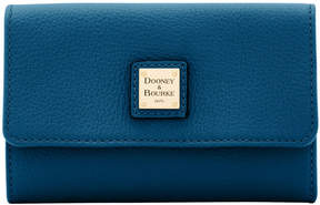 Dooney & Bourke Belvedere Flap Wallet - BLACK - STYLE