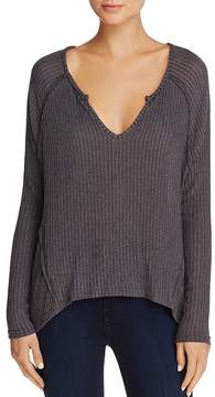 Aqua V-Neck High/Low Sweater - 100% Exclusive