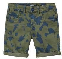 MANGO Bicolour print bermudas shorts