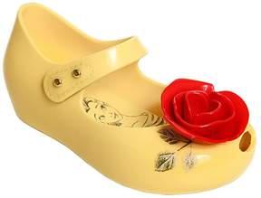 Mini Melissa Beauty & The Beast Rose Melflex Shoes