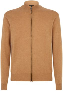 Dunhill Zipped Cashmere Cardigan