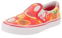 Vans Kids Classic Slip-on (glitter Fruits) Casual Shoe.