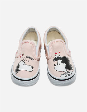 Vans x PEANUTS Smack Classic Slip-On Toddlers Shoes