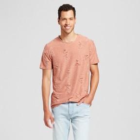 Jackson Men's Destructed Curved Hem T-Shirt Burnt Orange