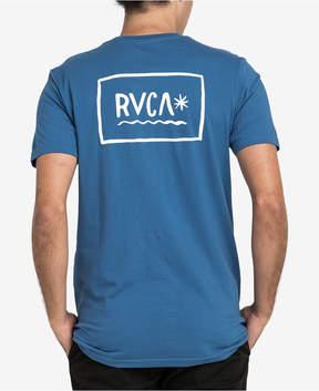 RVCA Men's Squig Logo-Print T-Shirt