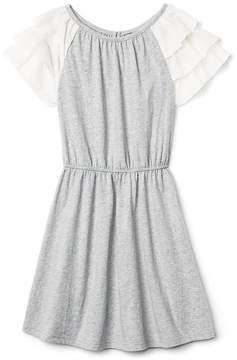 Gap Ruffle Sleeve Dress