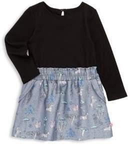 Billieblush Toddler's, Little Girl's & Girl's Floral Jersey Dress