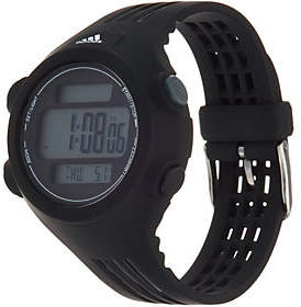 adidas Unisex Black & Black Resin Sport Watch - Questra
