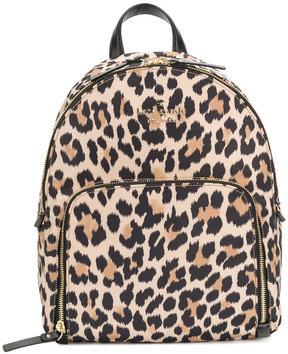 Kate Spade leopard print backpack - BROWN - STYLE