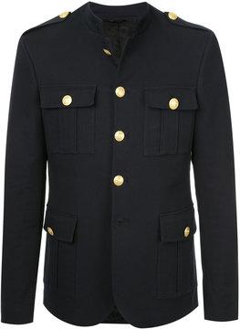 Pierre Balmain epaulette military jacket
